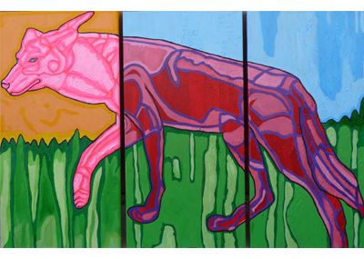 Coyote-Triptych